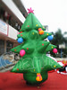 MOQ one piece PVC advertising inflatable Christmas tree for sale