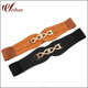OEM Custom Women Metal Elastic Belts For Dresses