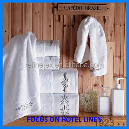 2016 hot sale hotel towel supply / face/bath towels