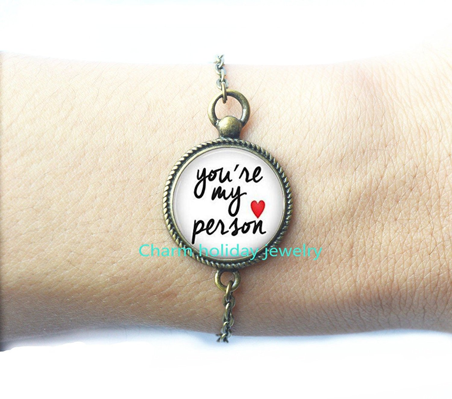 Get Quotations Youre My Person BraceletYou Are JewelryBest Friend Bracelet