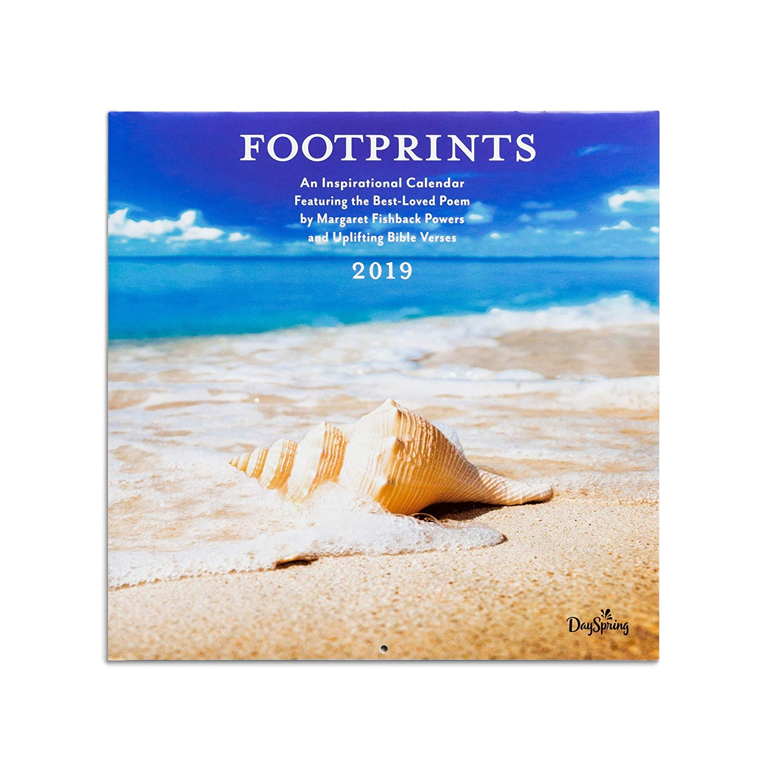 DaySpring DaySpring - Footprints, by Margaret Fishback Powers - 2019 Wall Calendar