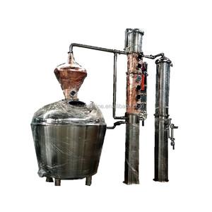 100gallon distiller alcohol copper still column gin distillery equipment