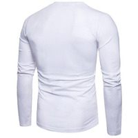 latest best selling design for men high quality fashion pattern t shirt full sleeve