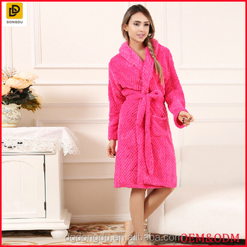2f04c20b736a New Arrival Fashion Comfortable Winter Bath Robe women Sleepwear