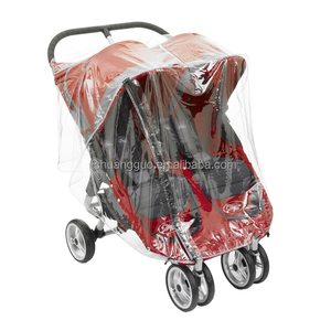 Easy Folding Twins Baby Stroller Rain Cover