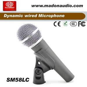 Grade A quality SM58LC dynamic cardioid wired Microphone