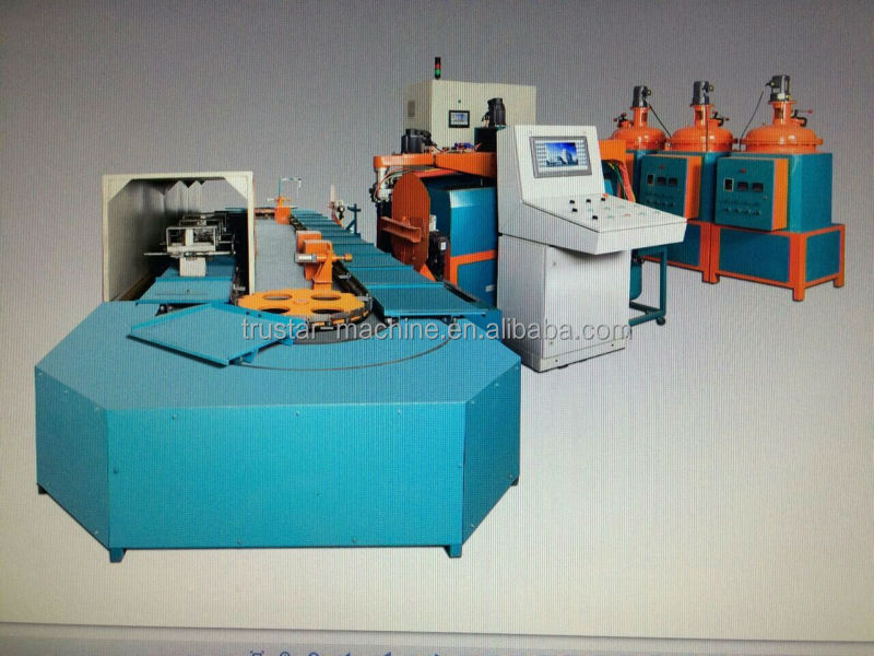 Full Auto PU Shoe machine shoe injection machine for sandals