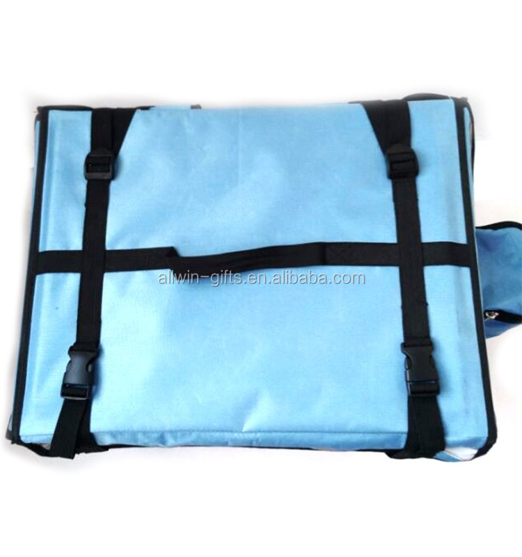 New Style Backpack Style Insulated Fast Food Delivery Bag With Sides Pockets