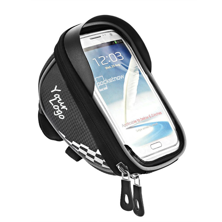 Best Bicycle Accessories Bike Handlebar Tube Bag With Touch Screen Bike Frame Front Top Tube