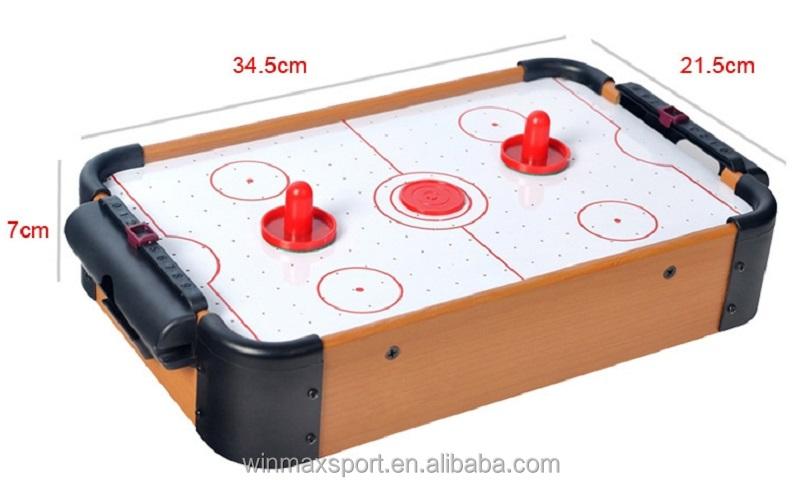 Wmg mini air hockey tafel hockey vermogen familieindoor sport