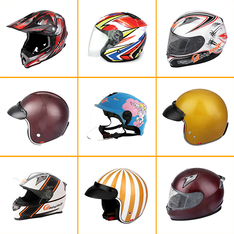 100% Tested Child Bicycle Longboard Auto Racing Helmet Motorcycle