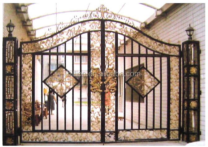 Best Sales Wrought Iron Grill Gate Design With Various