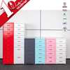 6 drawer mobile cabinet / mobile pedestal filing cabinet / helmer six drawer tall chest
