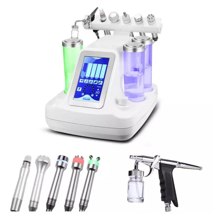 Beliebteste 8 in 1 Hautpflegeprodukte Facial Spa-Maschine multifunktionale Hydra Körperpflege-Schönheitsausrüstung
