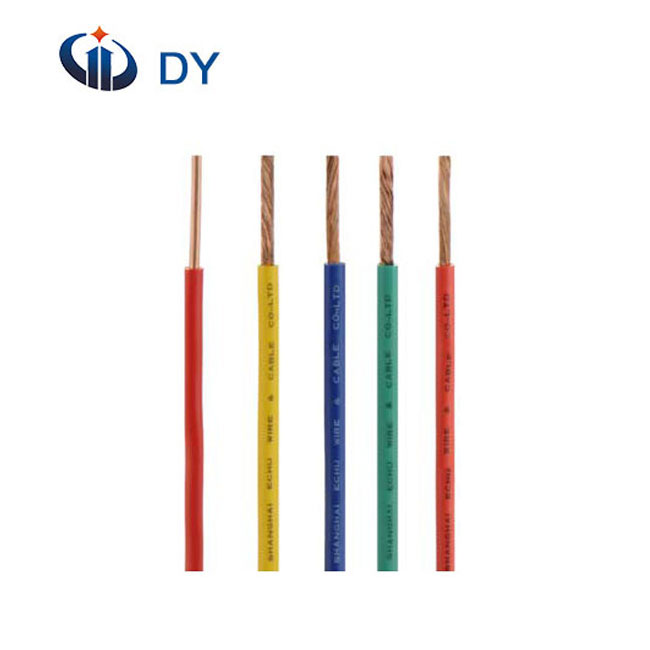 High quality PVC Insulated H07V-U H07V-R Electrical Wire for African market made in China