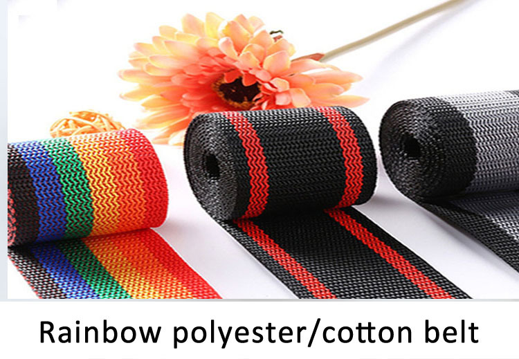soft comfortable garment accessories customized printed jacquard elastic webbing for underwear Jacquard rubber band