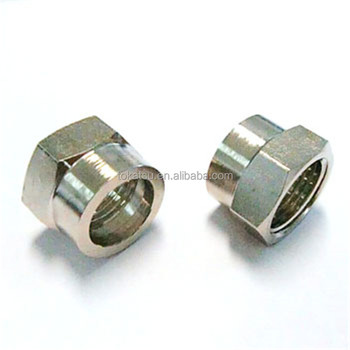 TOKATSU Factory Wholesale Custom Stainless Steel Hydraulic Pipe Joint Accessory Nut
