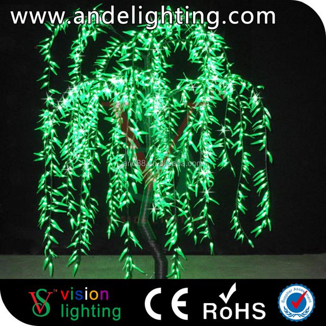 outdoor lighted twig christmas tree led light holiday lighting