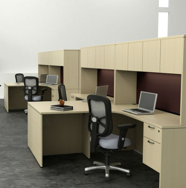 E1 panel de melamina mesas estaciones de muebles de for Trabajos de melamina