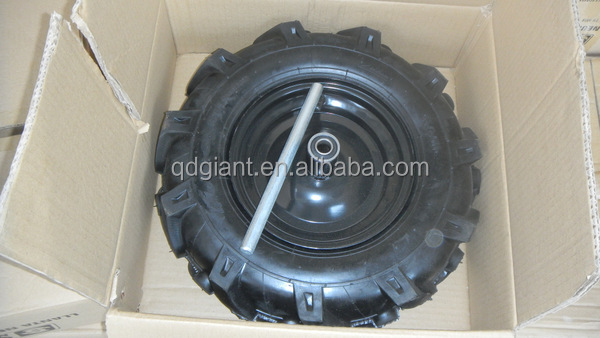 High quality 4.00-8 tillers wheel/400-8 agriculture wheels/3.50-6 400-8 mini-tiller tyre