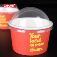 Biodegradable pla paper disposable ice cream cups and ice cream cup bowls