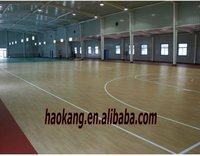 PVC /rubber /plastic /vinyl basketball floor and surface