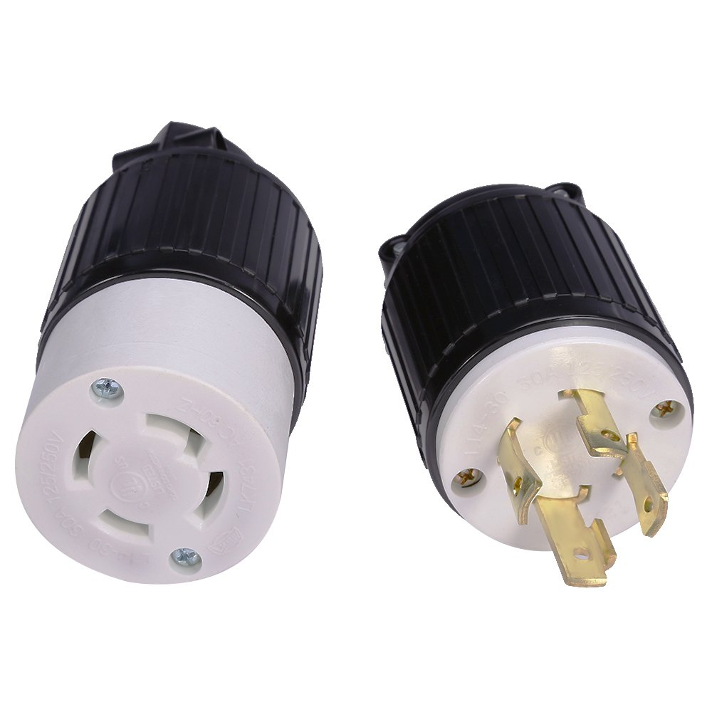 20pcs 10a 250v Round 2pin Ac Plug And Jack Eu Male Electrical Plugs For Extended Power Cord Connector At All Costs Connectors