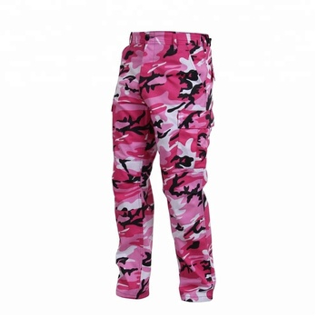 Men s Military Pink Camo Pants With Multi Pocket Outdoor - Buy ... 0aa13254e37