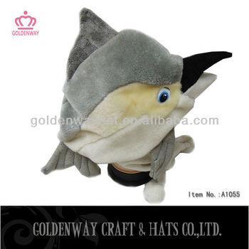 Dolphin Plush Winter Hat With Earflap Foam Animal Hats - Buy Foam ... 7cd4ef102