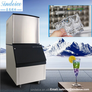 ISO CE 650kg cube ice maker machines mini cube ice machine system