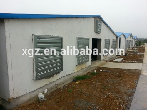 Poultry chicken farm building