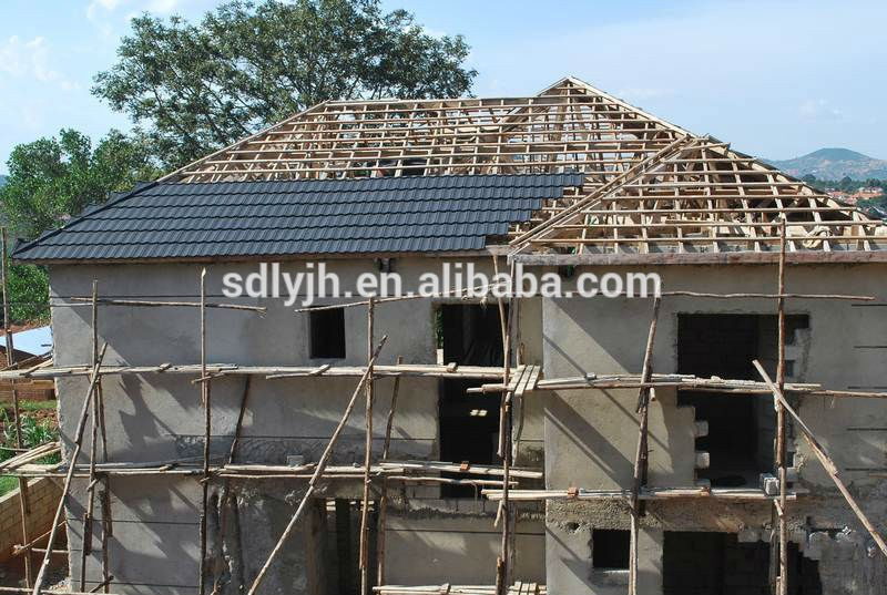 Cheap roofing materials modern house design types aluminum for Cheap house materials