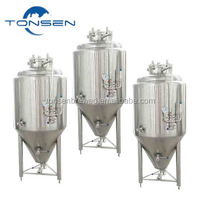 500L beer brewing equipment stainless steel 304 fermenters brewery storage tank