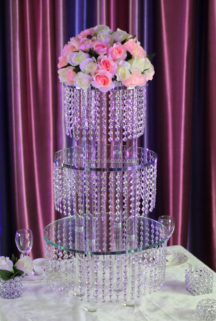 crystal wedding cake table beautiful square gold cake stand for wedding table center 13130