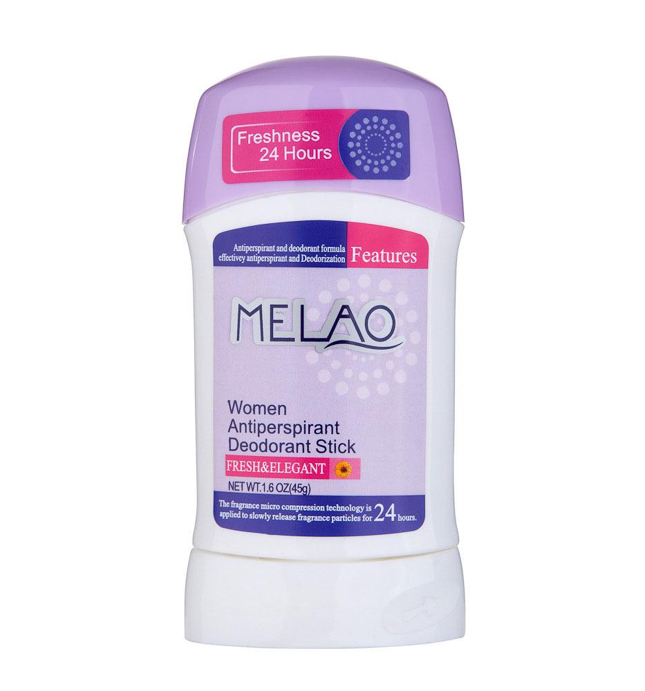 Private label OEM/ODM 75g /45g Antiperspirant Deodorant Stick for women