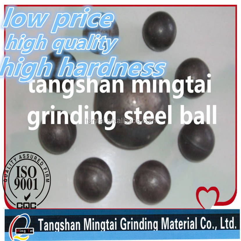 2015 all size high HRC casting and grinding steel ball