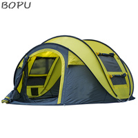 Outdoor Instant 5-Person Pop Up Dome Tent - Easy, Automatic Setup -Ideal Shelter for Casual Family Boat Tent
