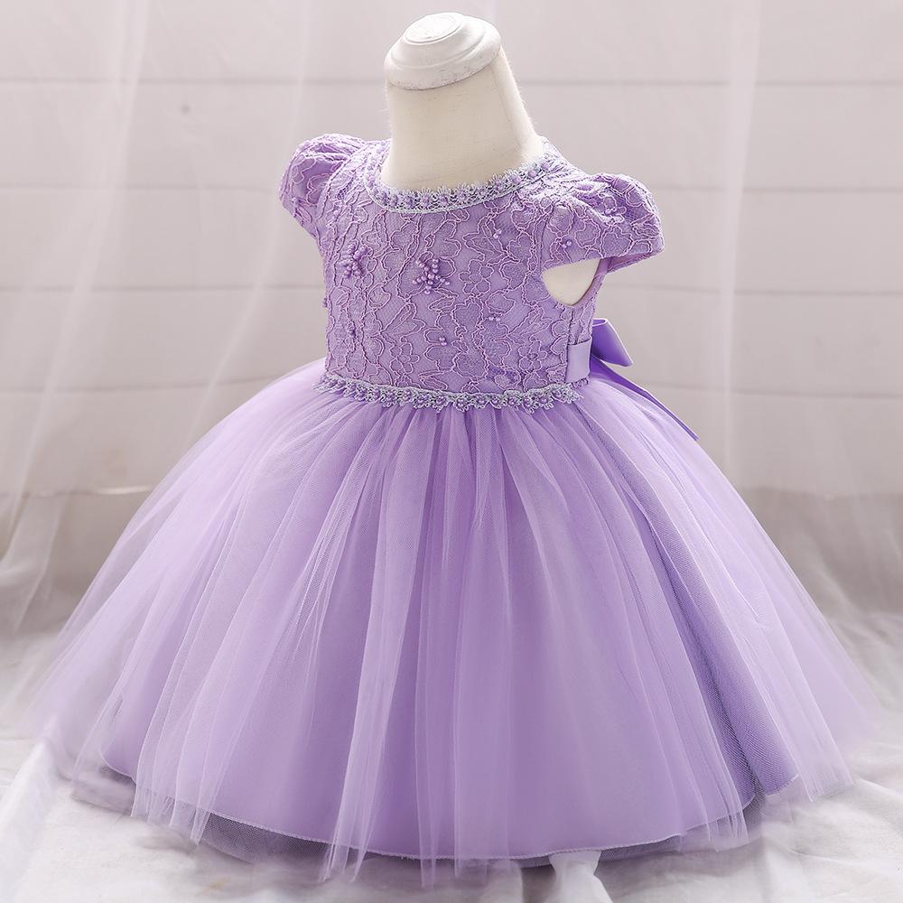908ac27ab Líder princesa flor verano vestido boda vestidos de fiesta de cumpleaños  para niños niñas traje de adolescente de diseños