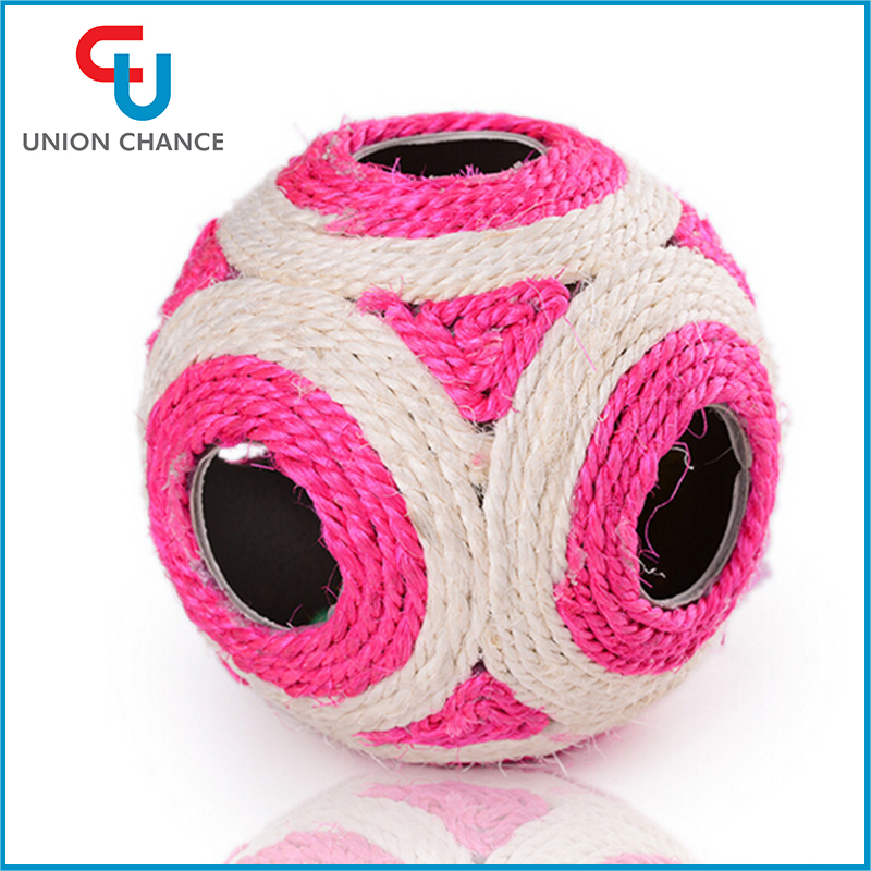 Pet Toy Puppy Dog Cat Fun Hot Play Training Lovely Ball Roller Dog Toy