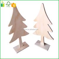 Wood Plywood Xmas Christmas Tree Table Decoration - Buy Rattan ...