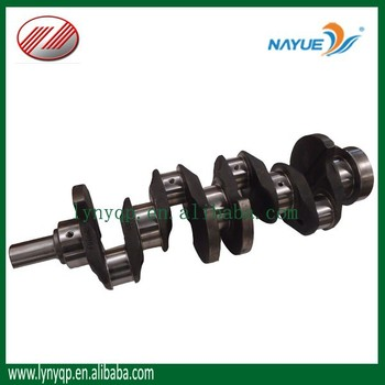 YUEJIN truck engine parts crankshaft for YN490QB NJ1028