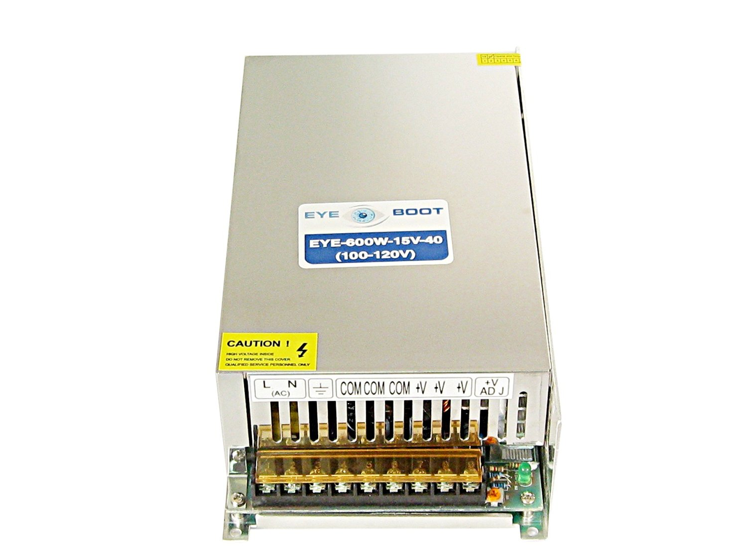 Eyeboot 15V 40A DC Universal Regulated Switching Power Supply 600w