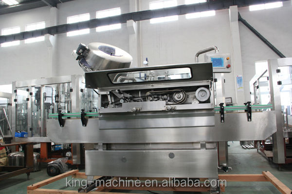 Electric Driven Type wine bottle screw capping machine