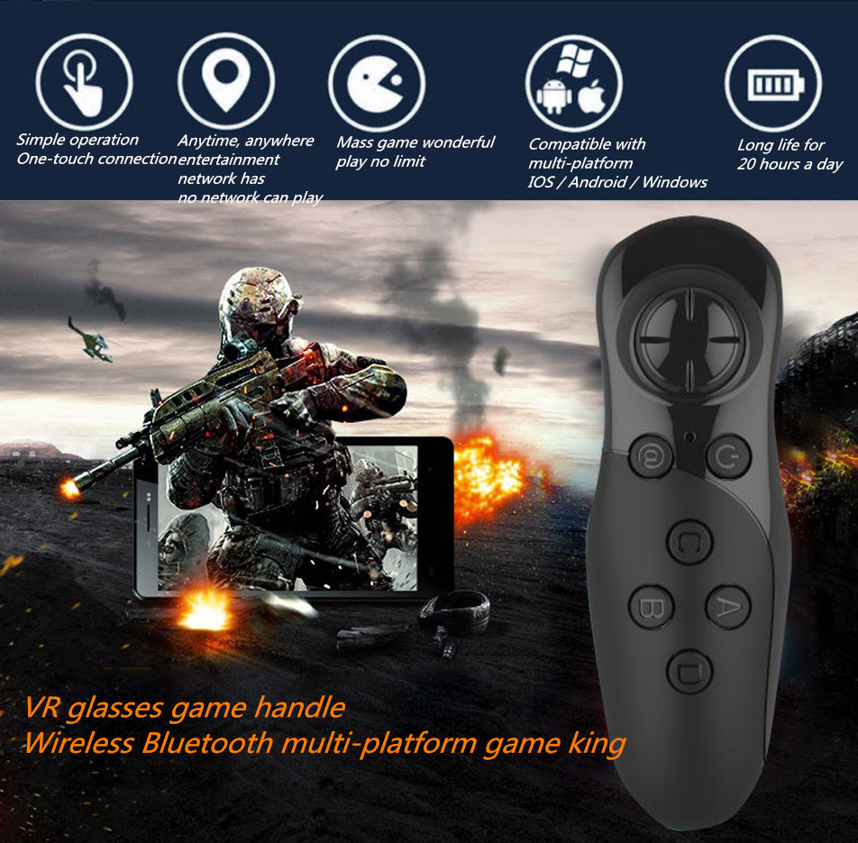 Bluetooth VR New design H9 air mouse for Android TV bluetooth mx3 2.4g 3d medical use Wireless remote controll