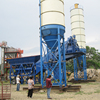 Competitive price ready mix Mini low cost simple 90m3/h Cement mobile concrete mixing plant
