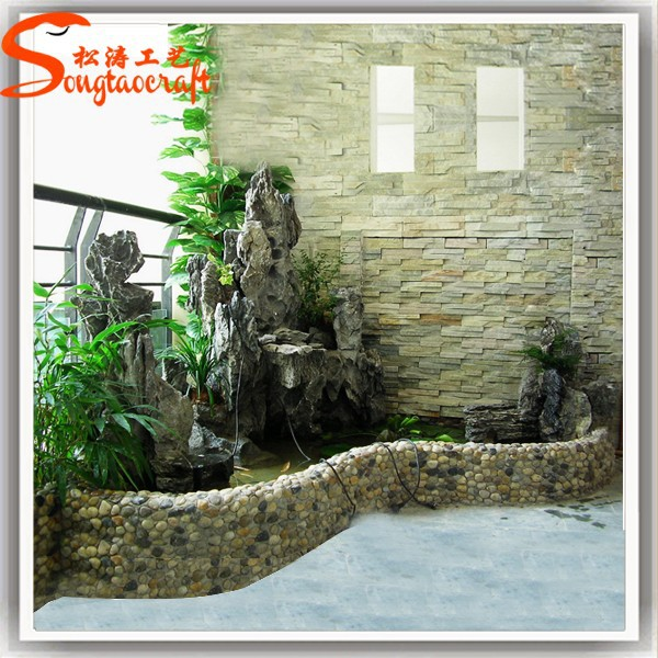 2015 china indoor pared artificial de agua cascada de for Cascada artificial en pared