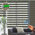 Manual and Motorized Blackout Zebra roller blinds shades shutters