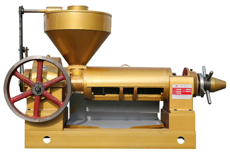 Screw Oil Press Suitable for Pressing Rapeseed Cottonseed Soybean