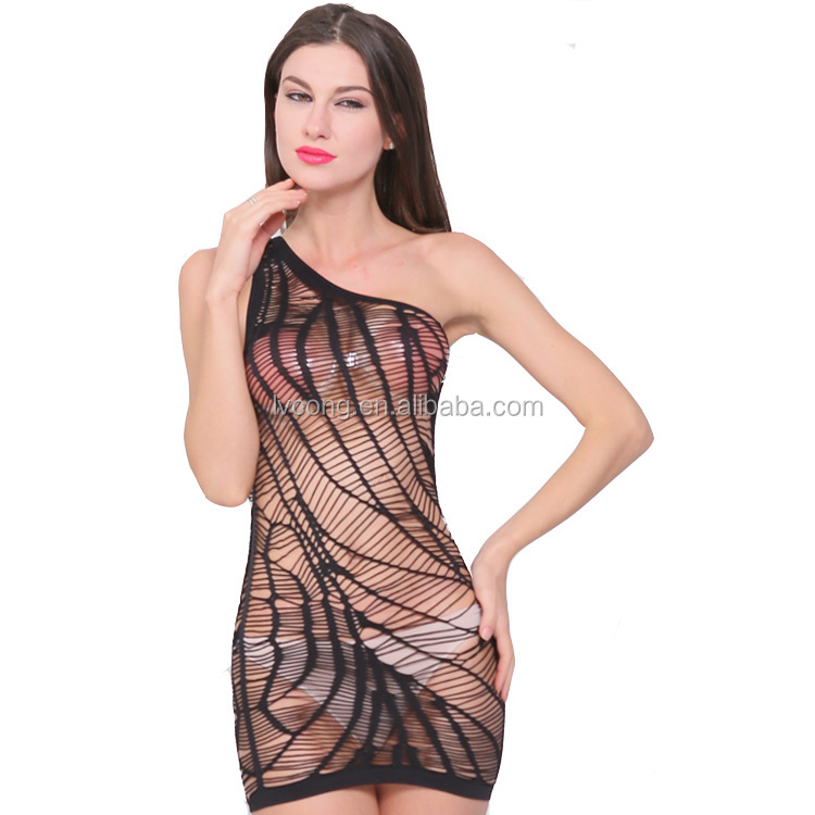 Babydolls & Chemises Gentle New Sexy Fishnet Lingerie Hot Babydoll Hollow Out Erotic Net Dress Transparent Perspective Sexy Sling Skirt Porno Costumes Products Hot Sale