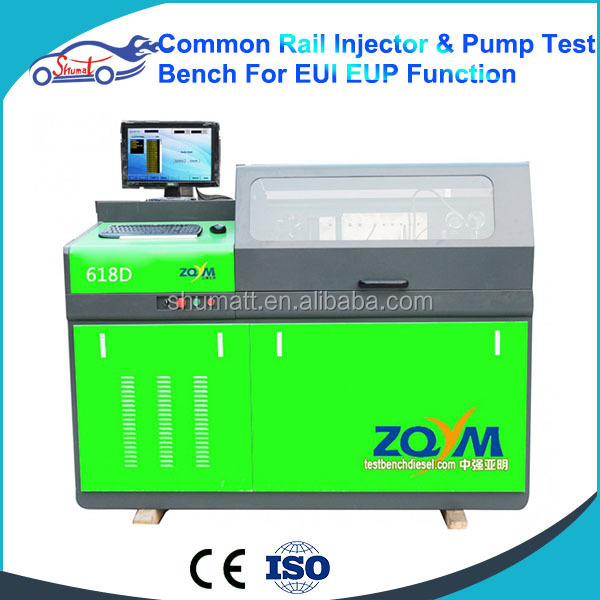 Common rail test bench Diesel fuel injection pump test bench ZQYM-618D with EUI / EUP function come with with full set Aids tool